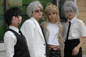 Cosplay Group pose