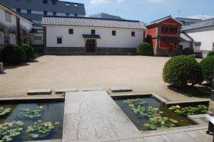 Courtyard of Ohara Museum of Art