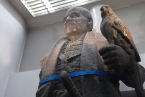 The statue of Ieyasu