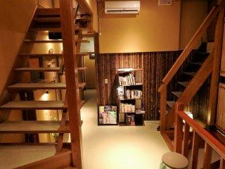 계단을 못 올라가시는 분들에겐 이 료칸은 좋은 선택이 아니다