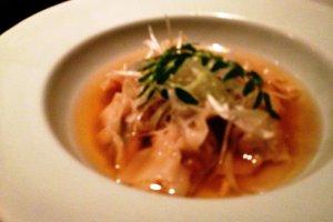 Shrimp Dumplings at Iyemon Cafe