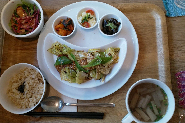 The gluten lunch set