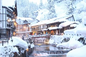 Ginzan Onsen is a fairytale world oozing traditional charm