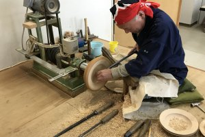 Local craftsman enjoys honing his craft