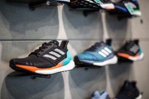 Sneaker selection at Runbase Tokyo