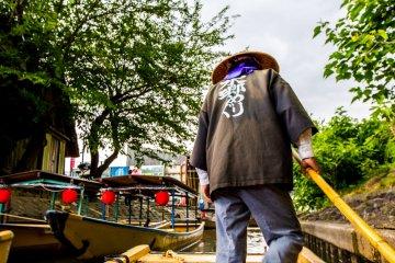 Hachimanbori Canal Boat Cruise