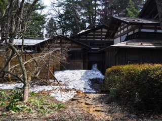 The snow around the samurai houses was really picturesque. It must look amazing when the snow is actually falling.