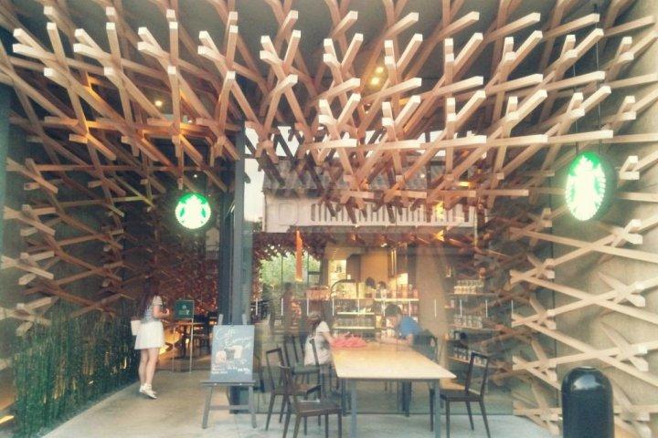 다자이후의 일본풍 스타벅스-!