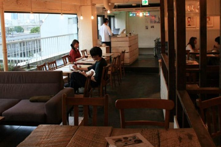 A to Z Cafe, Omotesando