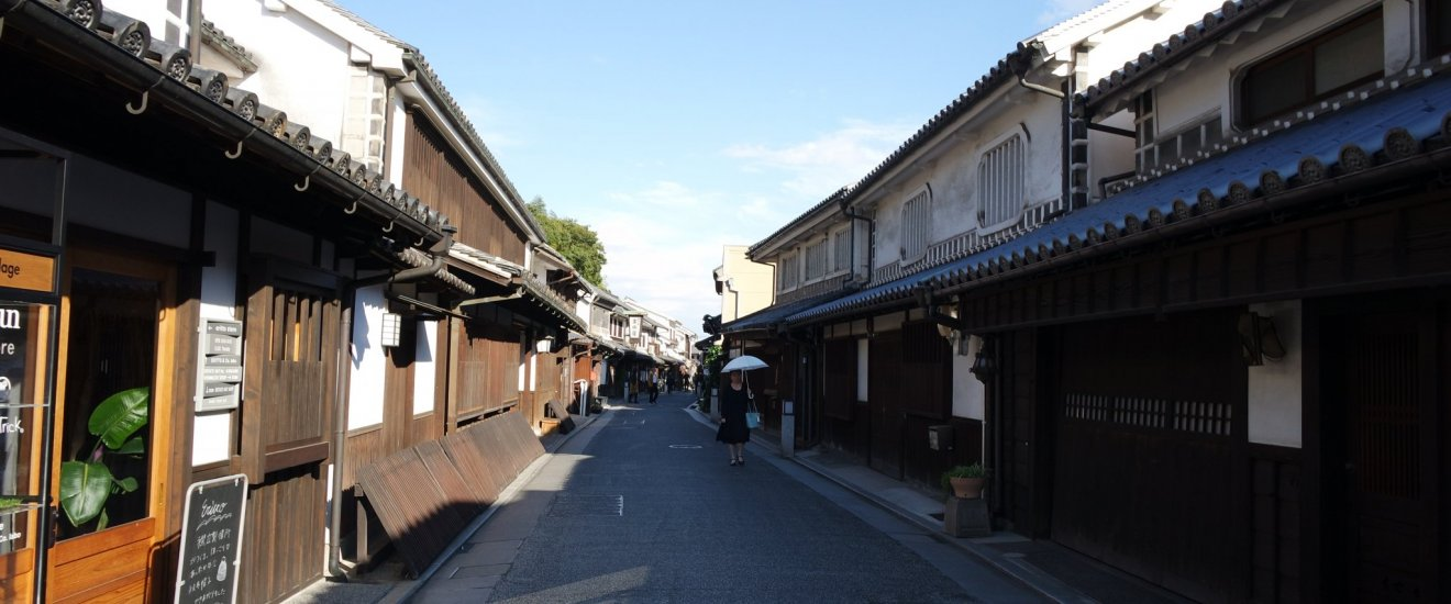 Kurashiki postcard come to life