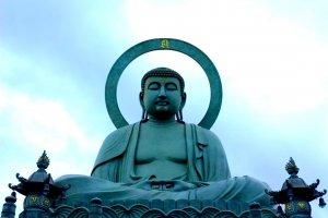 Takaoka Daibutsu, one of the three great Buddha statues in Japan