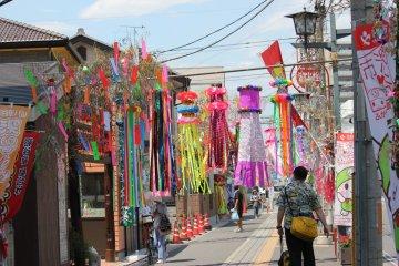Tanabata Matsuri di Fukaya
