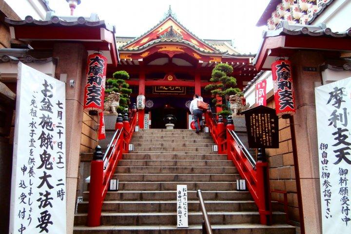 Tokudaiji Temple in Ameyoko
