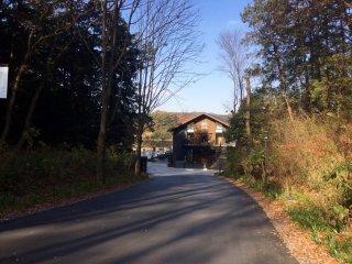 The entrance to the Scandinavian retreat.