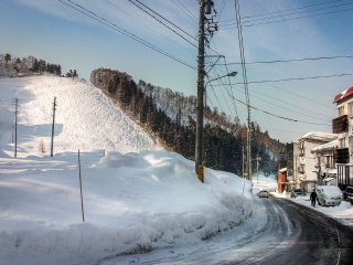 Although Nozawa Onsen is one of Japan's most popular resorts, this small  village only has a population of around 3,500 people