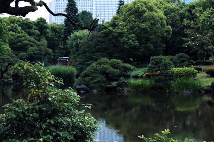 สวนสาธารณะฮิบิยะ กลางใจกรุงโตเกียว