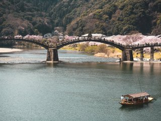 Kintaikyo Bridge in Yamaguchi Prefecture Editorial credit: / Shutterstock.com