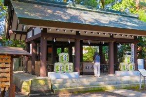 Tokiwa-jinja shrine
