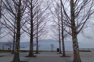 Scene by Lake Biwa