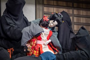 Emotion from a bunraku performance