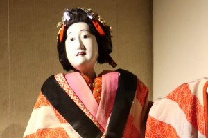 Female bunraku puppet