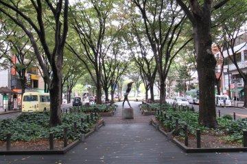 A Green Walk Through Sendai