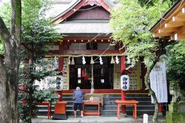 ศาลเจ้า Tetori Tenman