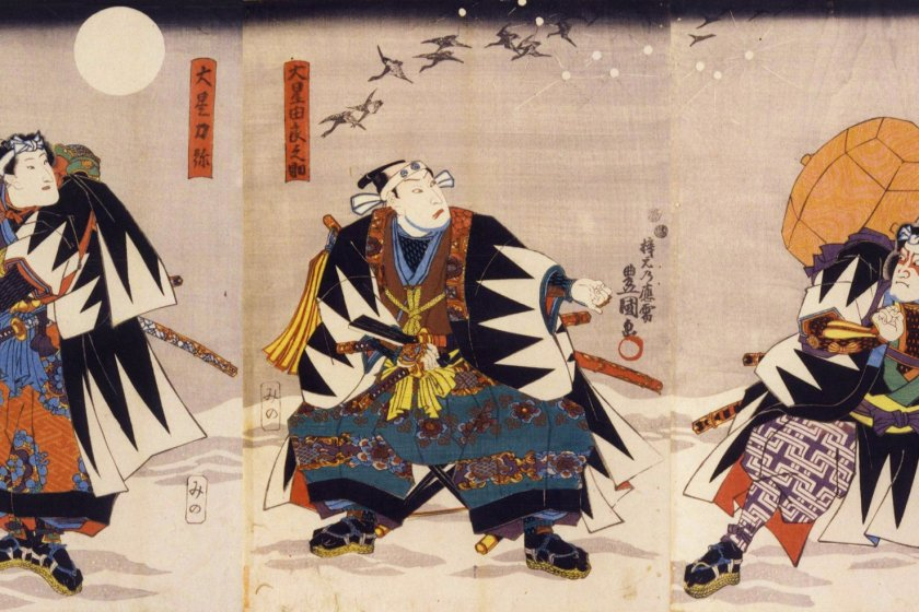 Kabuki has been an inspiration for generations of ukiyoe print artists