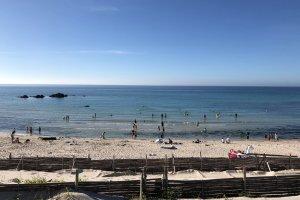 Beautiful Shiokaze Cobalt Blue beach