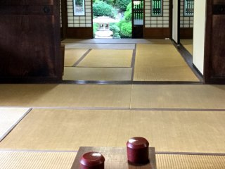 """A game of go in the """"hiroma"""", the big living space"""