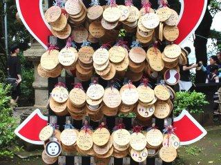 More ema from Enoshima shrine