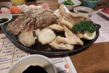 Catch Dinner at Zauo
