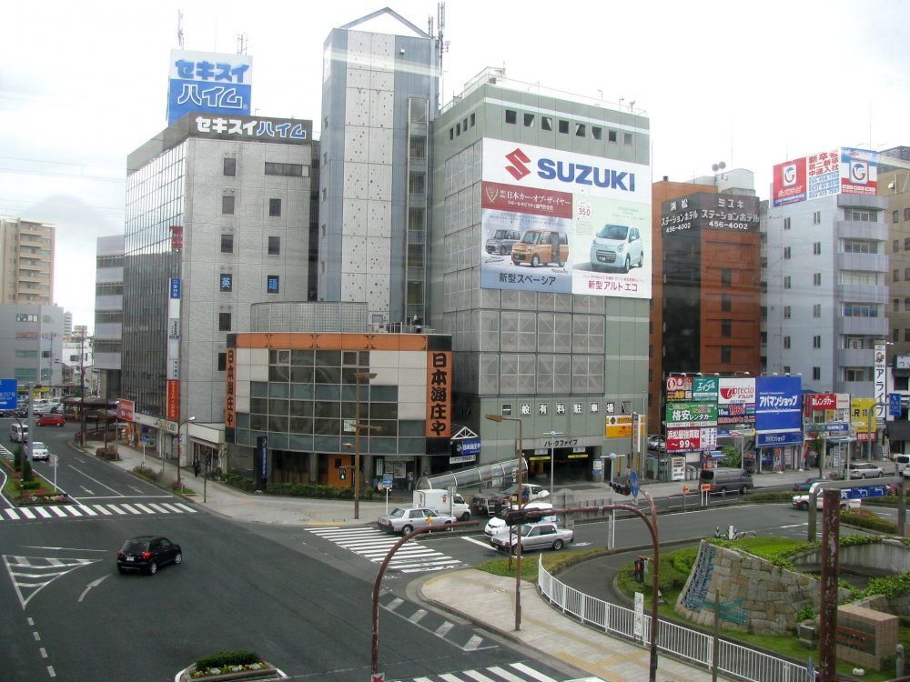 On first look, Hamamatsu seems a typical city