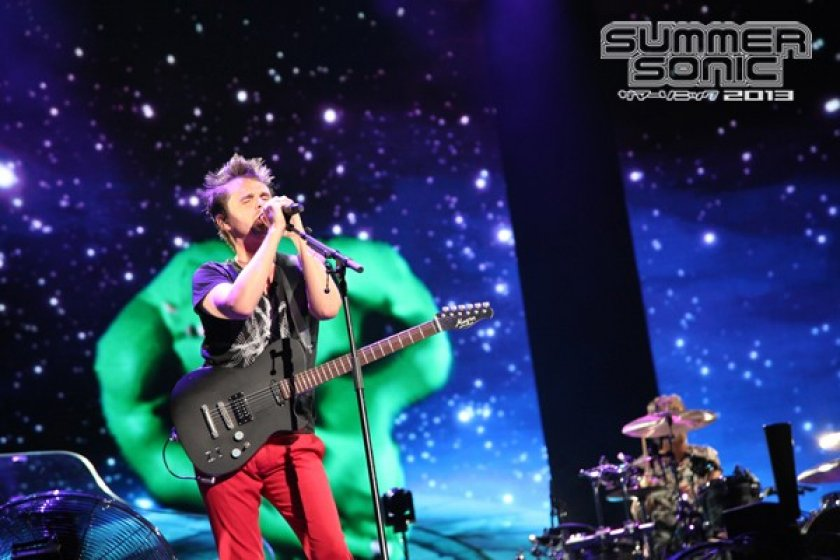 Muse closed the festival with a bang.