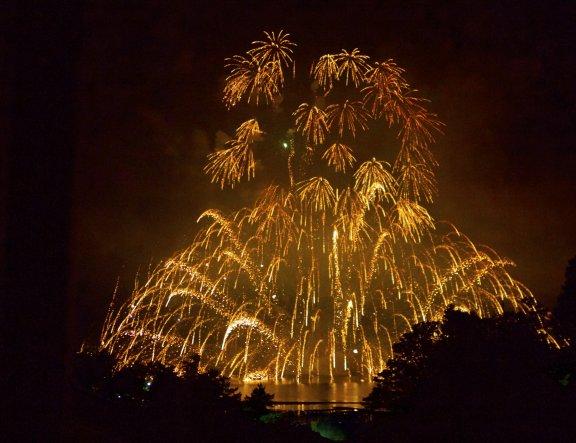 Miyajima Water Fireworks Festival