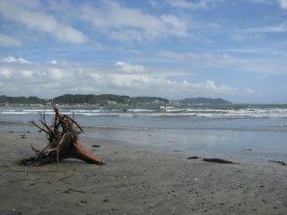 Yugihama beach in Kamakura