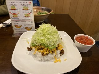 Taco rice - simple but delicious
