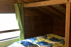 Shared rooms and cozy attic rooms available