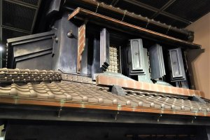 Detailed Edo-period building