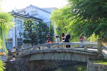 Kurashiki Bikan Historical Area in Okayama