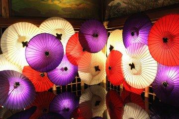 Umbrellas in Japan