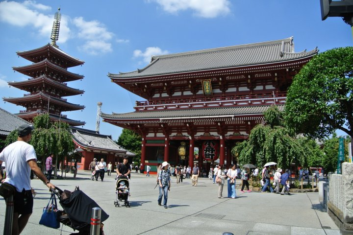 Senso-ji Temple at Asakusa