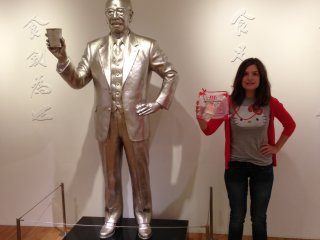 Get to know the creator, Momofuku Ando, as you admire his statue, work shed, and story. And don't forget to take pics at the wide wooden staircase, suspended noodle sculpture, and room that makes six-year-olds taller than basketball players