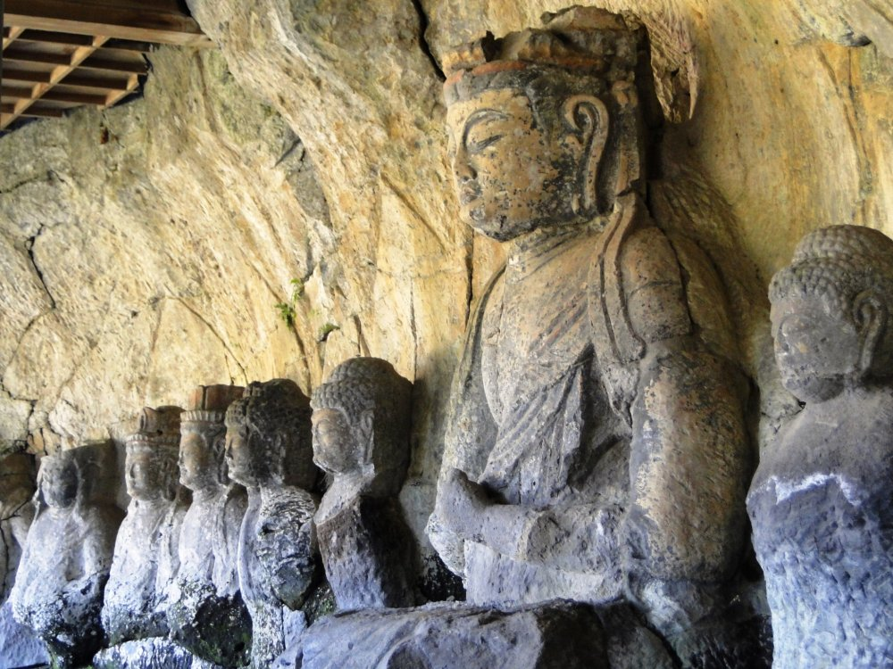 The large buddha here is regarded as one of the finest of its kind in Japan
