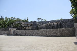 Tamaudun is the resting place of royalty in Naha