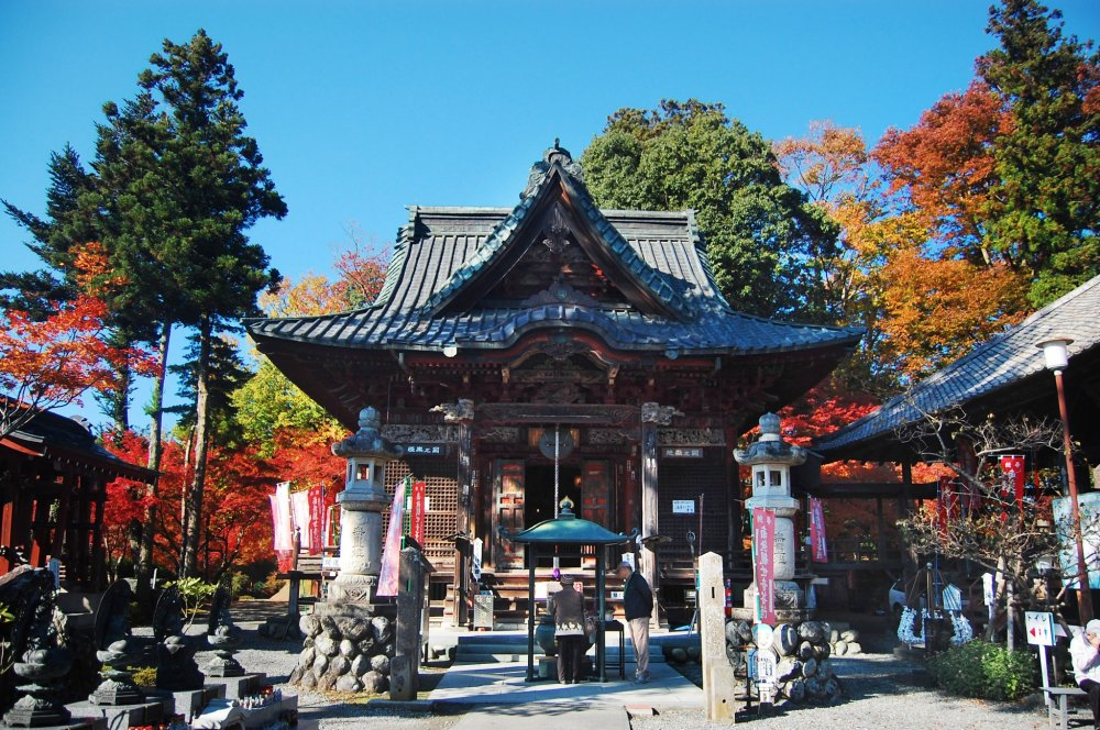 Shimajibu temple from the front