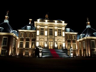 The magnificent Palace Huis Ten Bosch