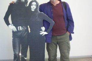 John, Yoko and a friend