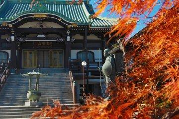 A serene temple of Kenpukuji