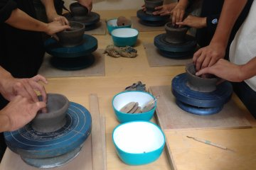 Attend a Tea Ceremony Using a Bowl You Make - March 2 and April 6